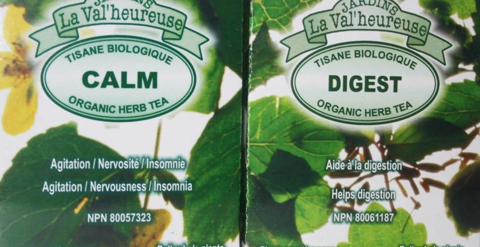 Tisanes calmantes et digestives (emballage cadeau duo..